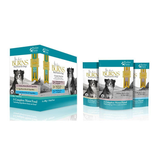 Burns Penlan Farm Range Mixed Pack Wet Dog Food 6x400g