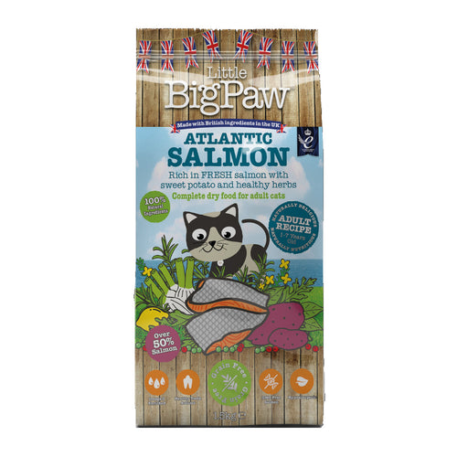 Little Big Paw Atlantic Salmon Complete Adult Cat