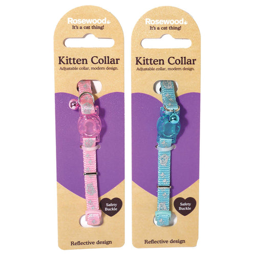 Rosewood Reflective Kitten Collar