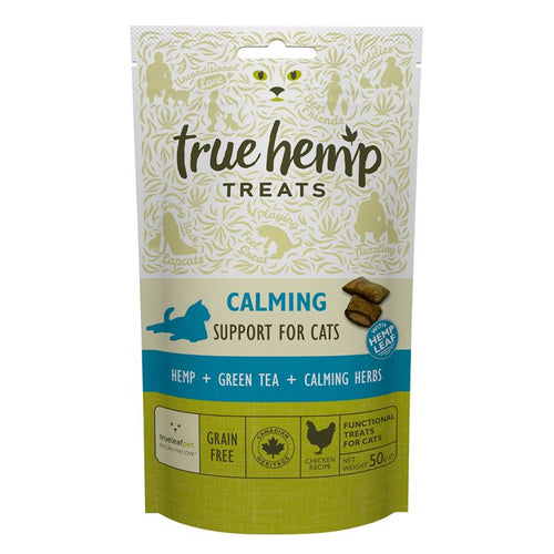 True Hemp Calming Cat Treats 50g