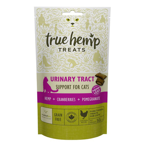True Hemp Urinary Tract Cat Treat 50g
