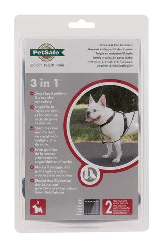 PetSafe 3 in 1 Harness and Car Restraint