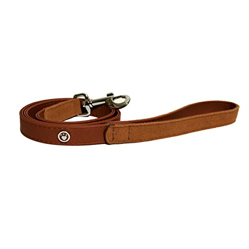 Rosewood Luxury Leather Dog Lead Soft Touch