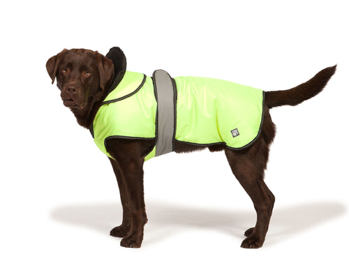 Danish Design Hi Viz 2 in 1 Dog Coat