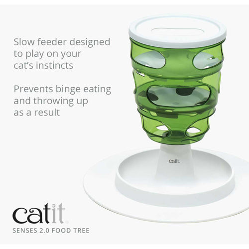 Catit Senses 2.0 Food Tree Cat Toy