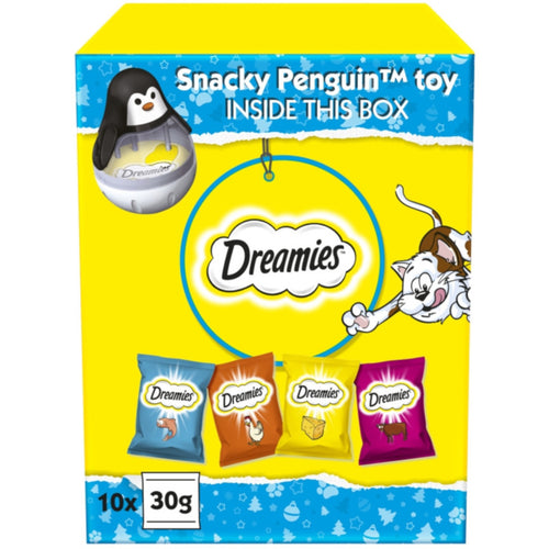 Dreamies Christmas Cat Treat Gift Box
