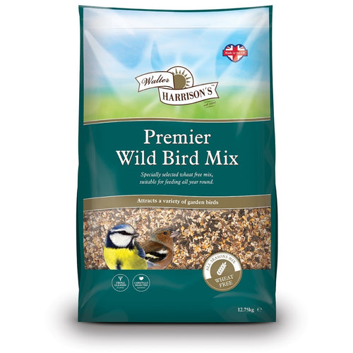 Walter Harrison's Premier Wild Bird Food Mix 12.75kg VAT Free