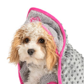 Ancol Small Bite Hooded Puppy Blanket