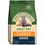James Wellbeloved Adult Cat Food Turkey & Rice Indoor 4kg