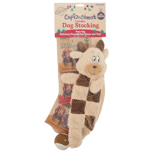 Rosewood Cupid & Comet Luxury Christmas Dog Stocking