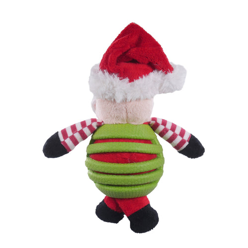 Rosewood Rubber Belly Santa