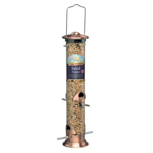 Walter Harrison's Cast Copper Plated Seed Feeder 35cm