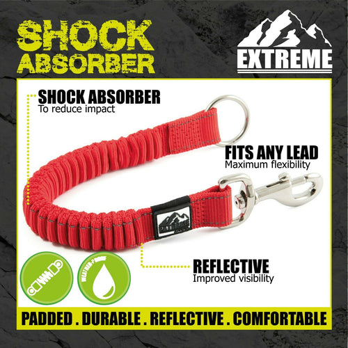 Ancol Extreme Reflective Shock Absorber Attachment for All Leads