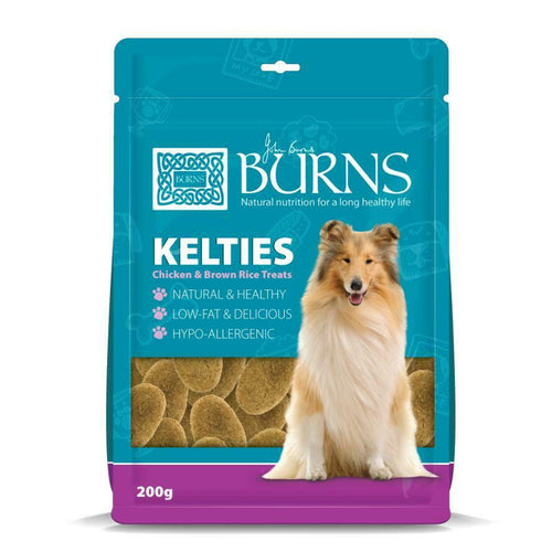 Burns Kelties Chicken & Brown Rice Dog Treats, 200g