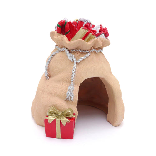 Rosewood Small Animal Santa Sack Den and Cave