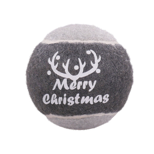 Rosewood Dog Christmas Tennis Ball