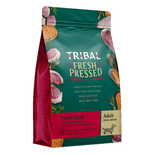 Tribal Fresh-Pressed Adult Small Breed Dog Food Duck