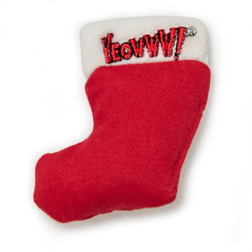 Yeowww! Christmas Catnip Stocking