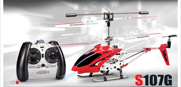 3-channel RC Single-blade Remote Control Helicopter - LuxurenaMall