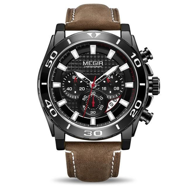 Relojes 2019 MEGIR Watch Men Fashion Sport Quartz Clock Mens Watches Top Brand Luxury Waterproof Watch Hour Men's Watch Watch - LuxurenaMall
