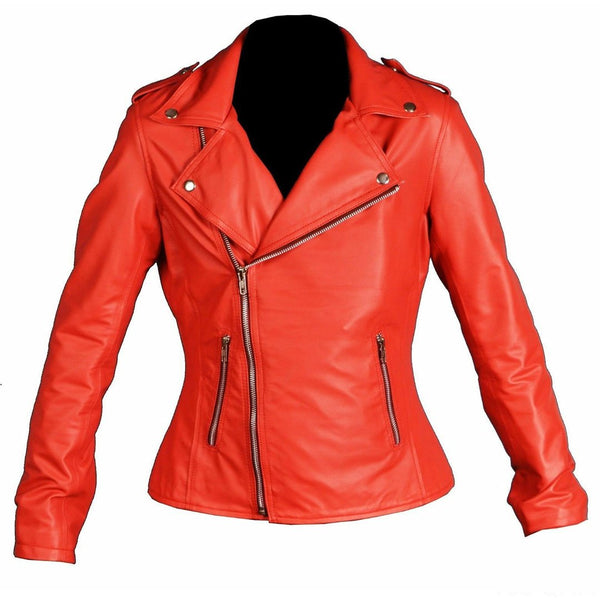 Nieuwe Women's Riverdale Southside Serpents Cheryl Blossom Faux Leather Jacket - LuxurenaMall