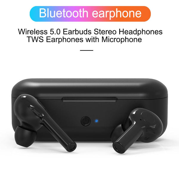 Wireless Bluetooth Earbudds Smart Touch Mini Portable Stereo CVC Noise Annuleren Earphone