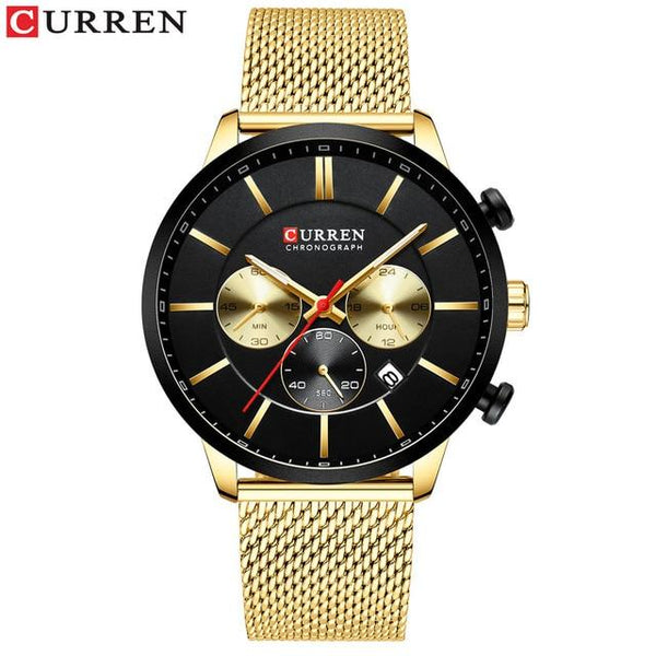 Curren Watch chronométrage chronométrage homme d 'affaires Quartz Watch