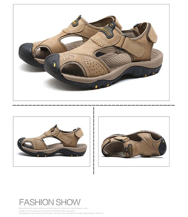 Sandales Romaines Outdoor Hommes - LuxurenaMall