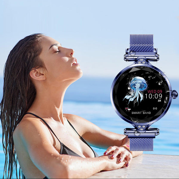 Female Cardiac tension monitoring Movement Tracker gym Bracelet Watch