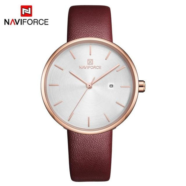 Trending 2019 NAVIFORCE العلامة التجارية Women Watch Fashion - LuxurenaMall