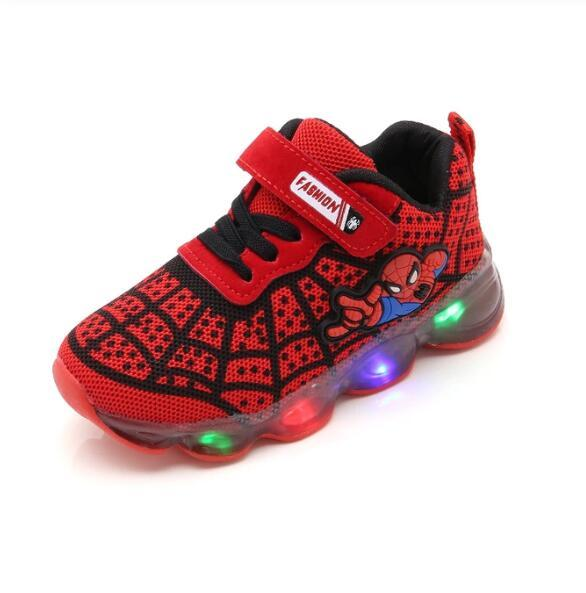 Chaussures LED Spiderman - LuxuriMall