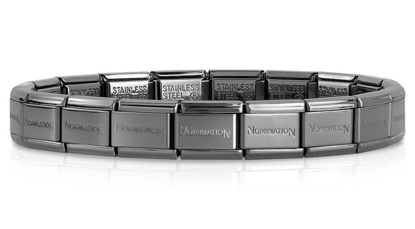 Nomination Black Stainless Steel Bracelet