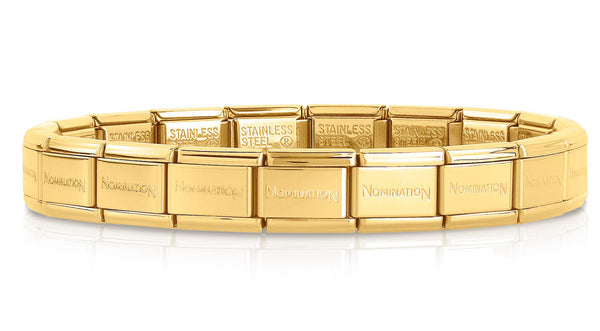Nomination Gold Starter Bracelet