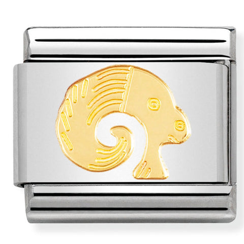 Nomination Aries Starsign Charm in Gold