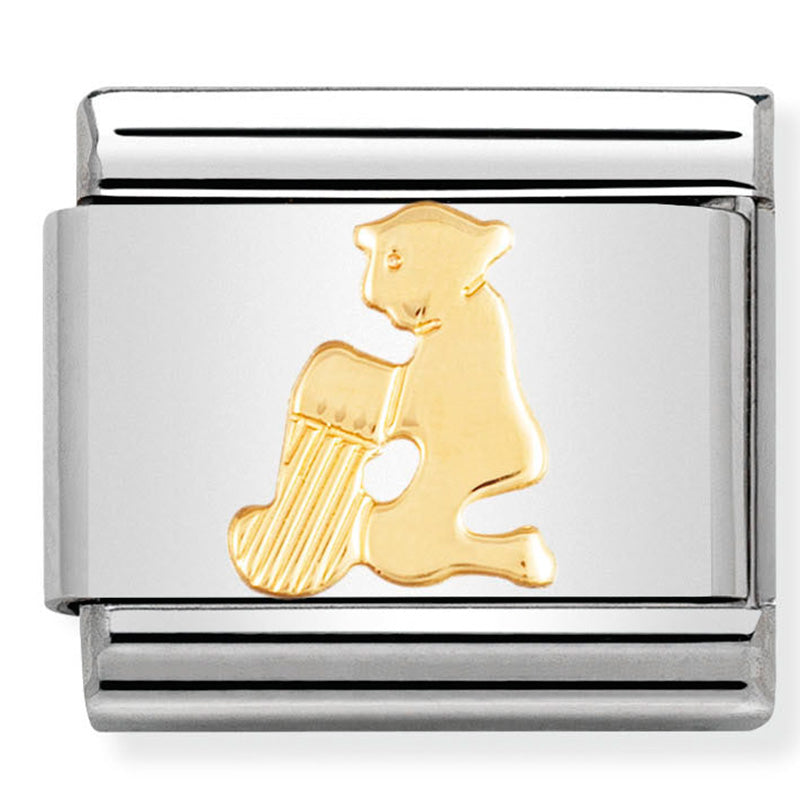 Nomination Aquarius Gold Charm