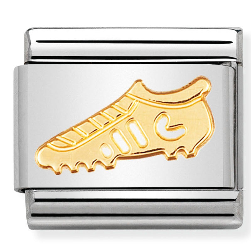 Nomination Football Boot Gold Charm