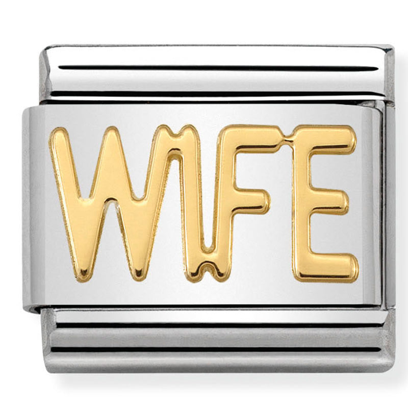 Wife Gold Charm