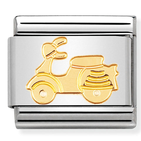 Nomination Scooter Gold Charm