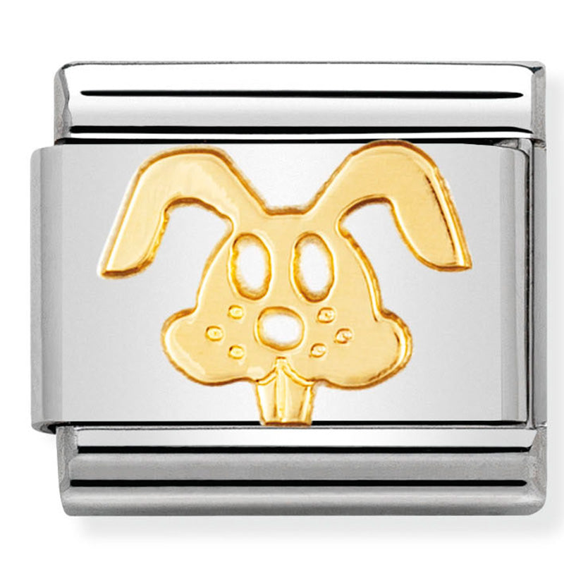 Nomination Rabbit Gold Charm