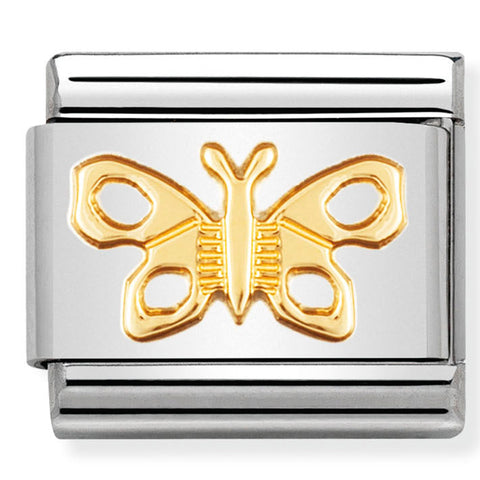 Nomination Butterfly Gold Charm