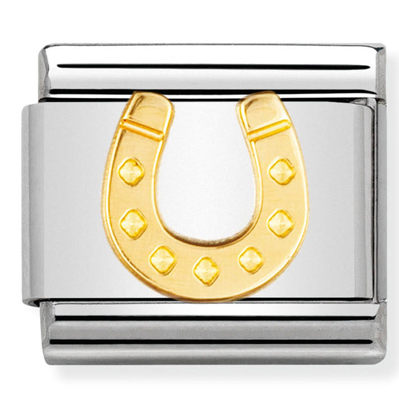 Horseshoe Gold Charm