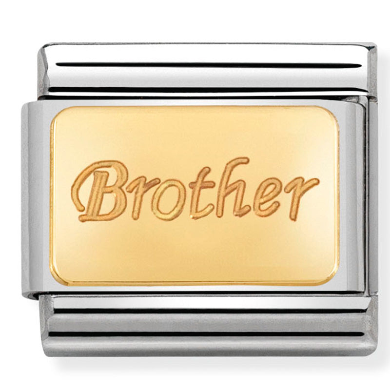 Nomination Brother Gold Charm