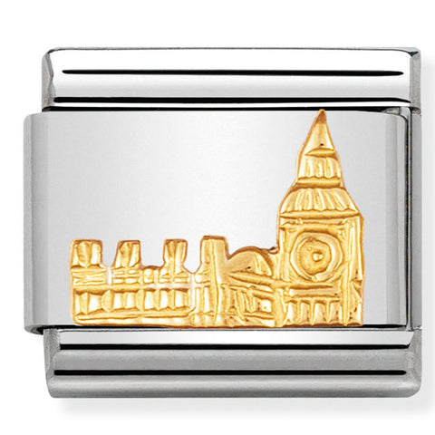 Nomination England Big Ben Gold Charm
