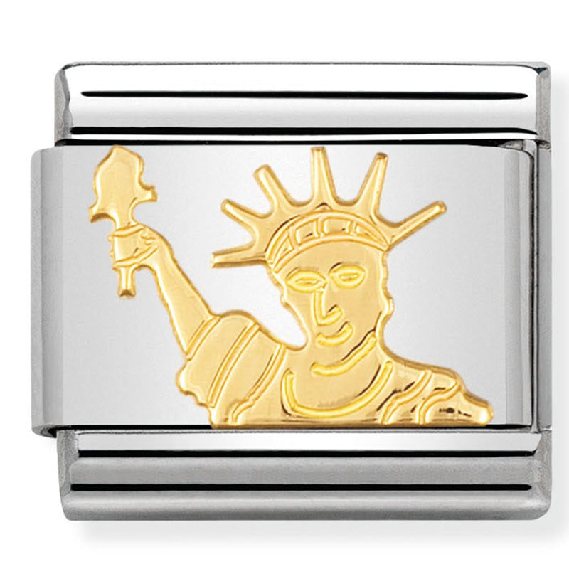 Statue of Liberty Gold Charm
