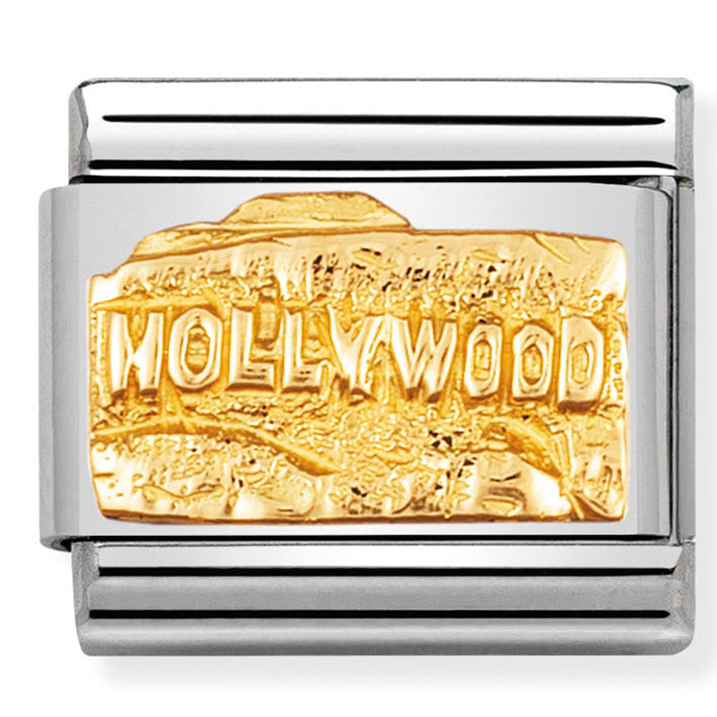 Hollywood Gold Charm