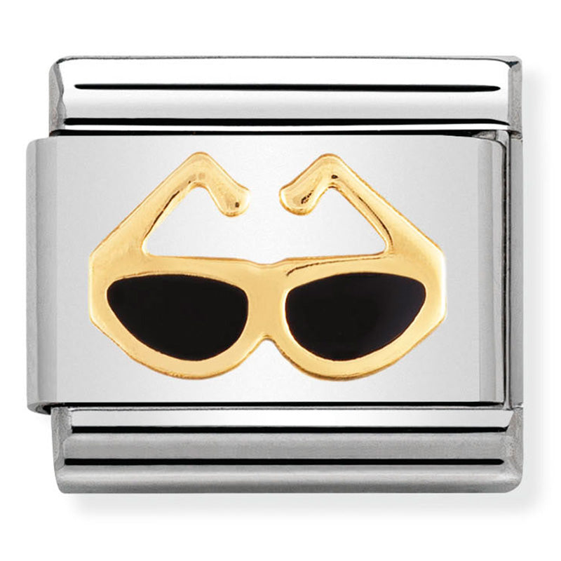 Sunglasses Gold Charm