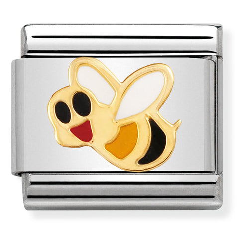 Nomination Bee Enamel Gold Charm