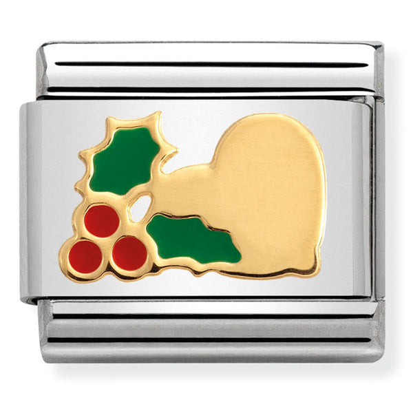 Nomination Christmas Holly Charm