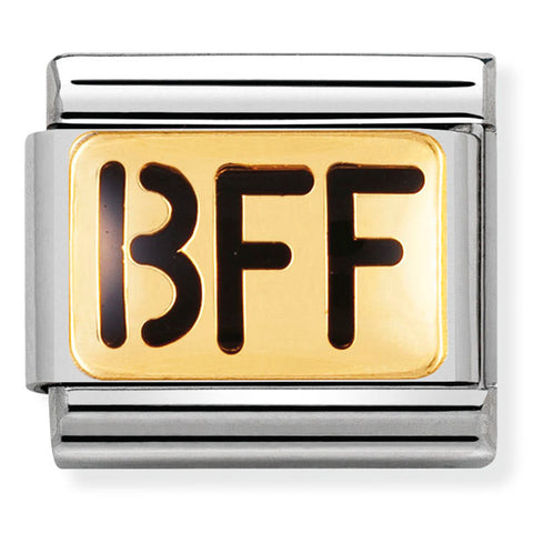 Nomination BFF Gold Charm