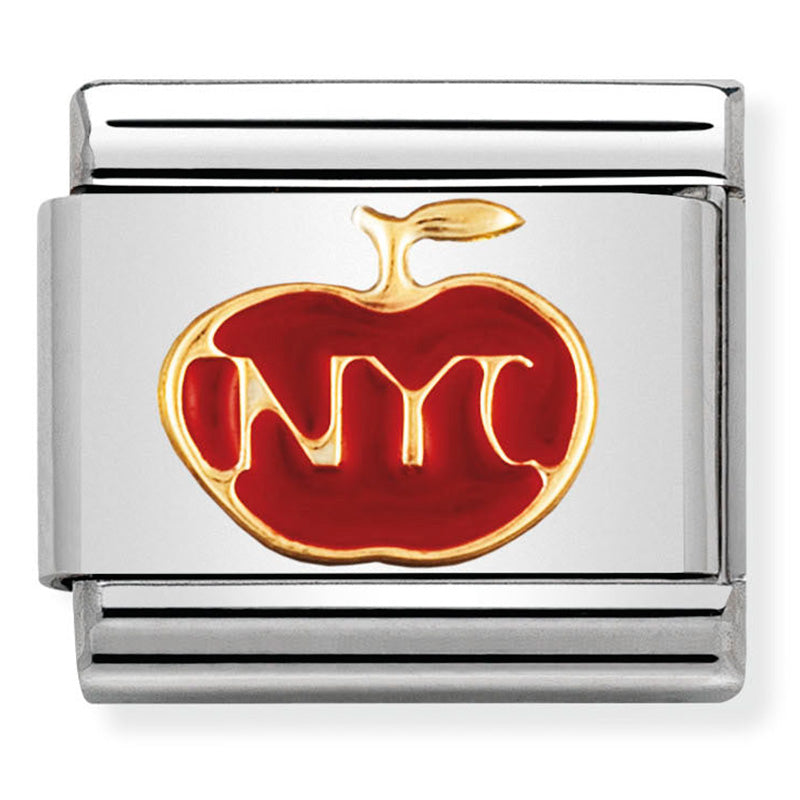 NYC Apple Gold Charm